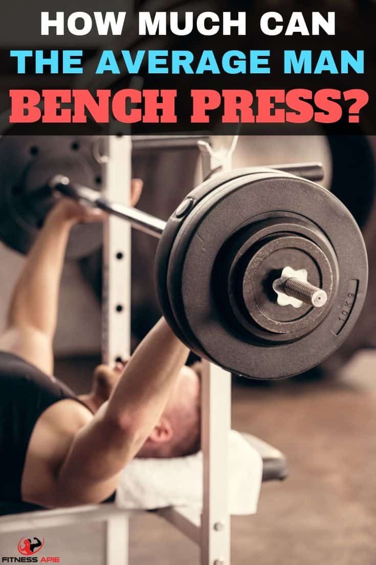 How Much Can The Average Man Bench Press