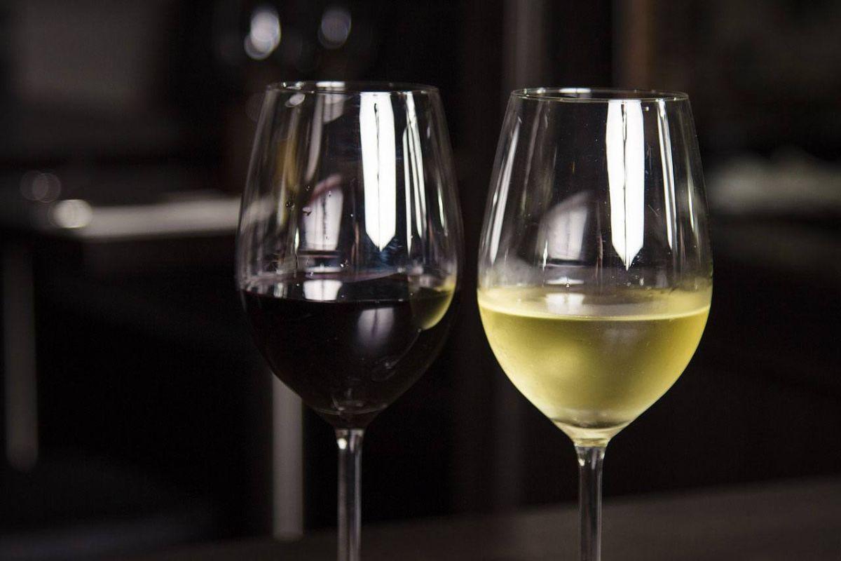 calories to wine