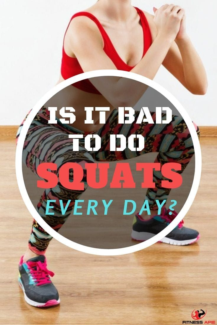 Is It Bad To Do Squats Every Day
