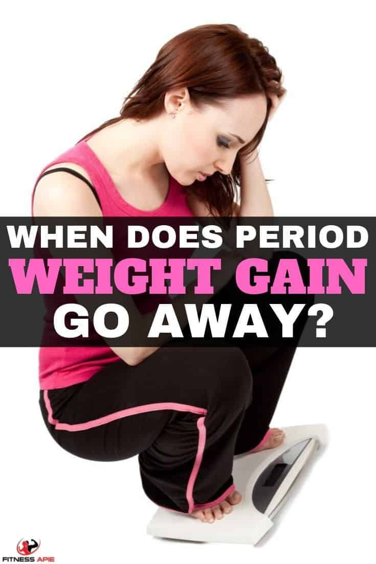When Does Period Weight Gain Go Away