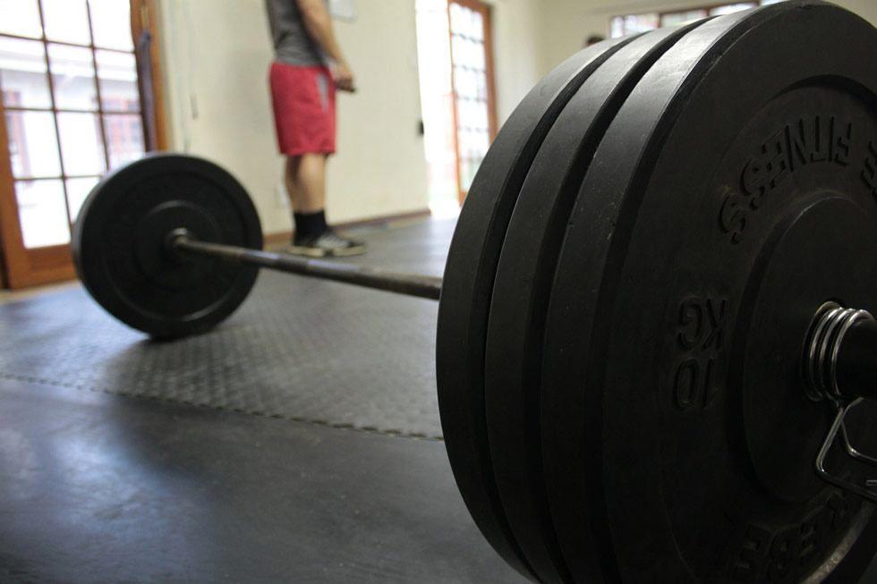 barbell weigh