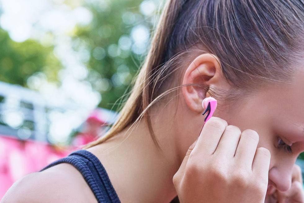 ears hurt when running