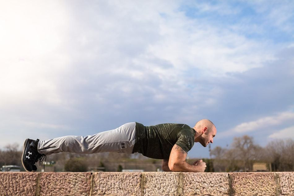 planking exercise calories