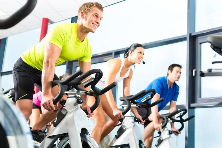 spinning aerobic exercise