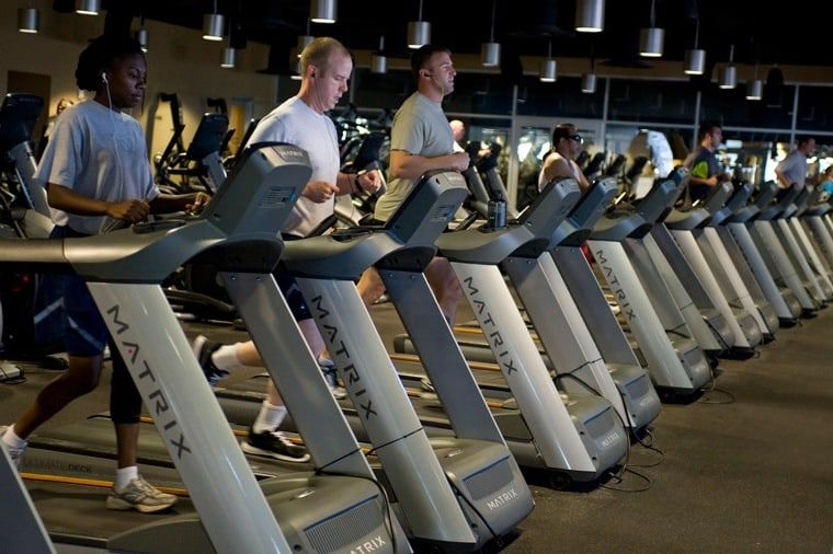 interval training with treadmill