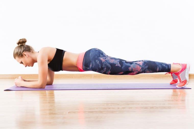 planks exercise