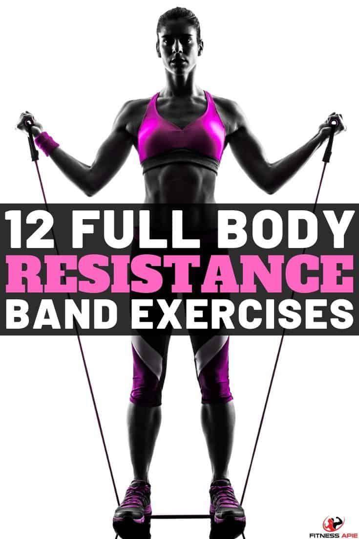 full body resistance band exercises