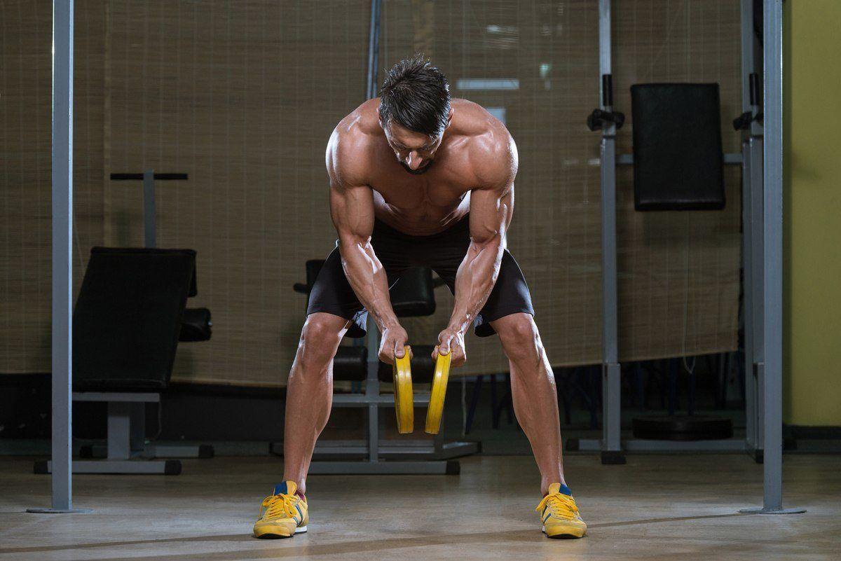Mature Man Workout