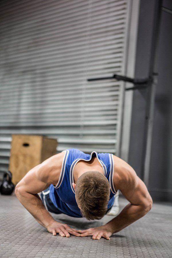 what muscles do diamond push ups work