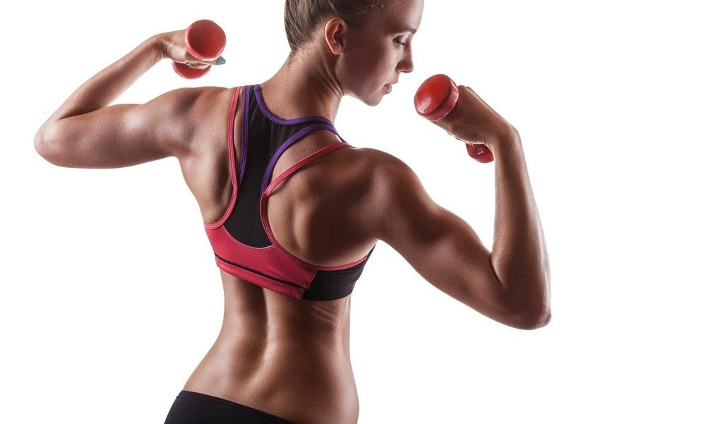 beginners strength training workout for a woman