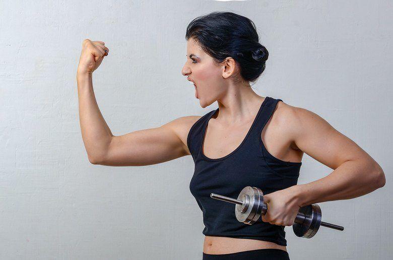 Woman Start Strength Training