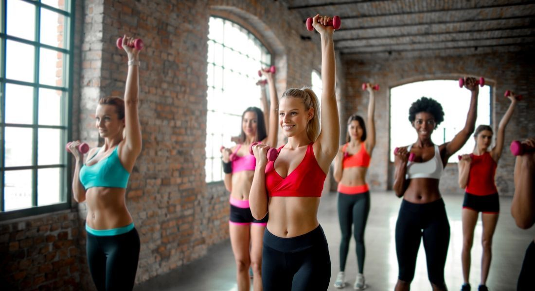 Toned Arm Workout With Dumbbells