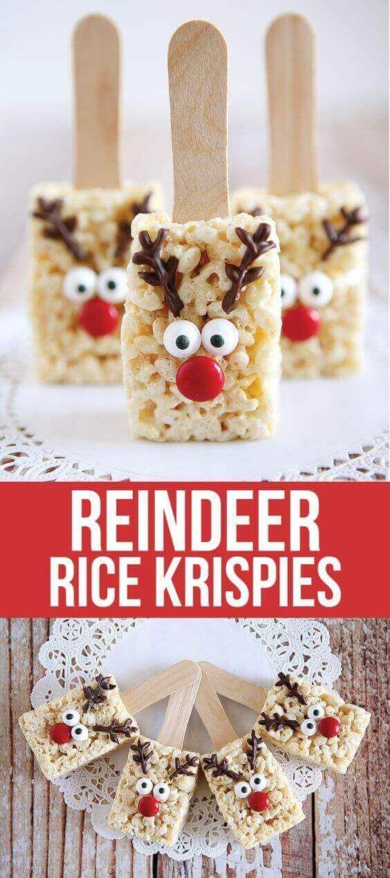 Reindeer Rice Krispies