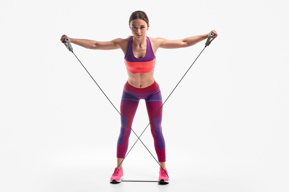 11 Resistance Band Exercises For Arms