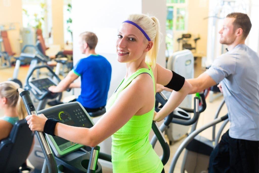 treadmill elliptical combo